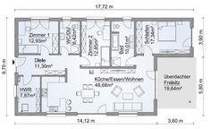 winkelbungalow 117 mit erker einfamilienhaus neubau massivbau sein auf stein wohnr ume. Black Bedroom Furniture Sets. Home Design Ideas
