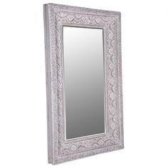 The French Bedroom Company Coralie Carved Floor Mirror