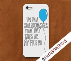 TFIOS iPhone Case - iPhone 4 Case, iPhone 5 Case, iPhone 5c Case. Rollercoaster That Only Goes Up on Etsy, $15.75
