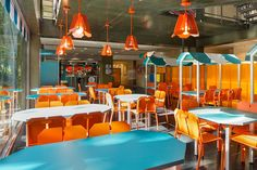 Mini R fast food concpet by Matali Crasset + Praline, France