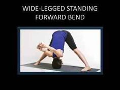 Wide – Legged Standing Forward Bend