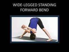 Wide – Legged Standing Forward Bend
