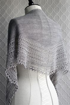 Pattern available through Ravelry...Henslowe shawl...