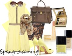 a lovely outfit idea for spring <3