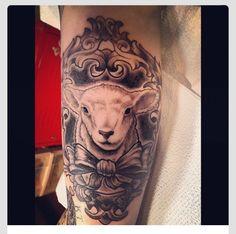 Lamb tattoo