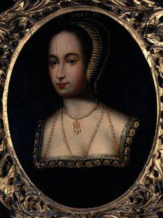 The 16th century Loseley Hall Portrait of Queen Anne Boleyn, by an unknown artist