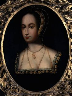 The 16th century Loseley Hall Portrait of Queen Anne Boleyn, by an unknown artist