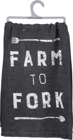 Farm to Fork Kitchen Towel