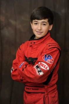 A young Chase Elliott. He's so cute!!!