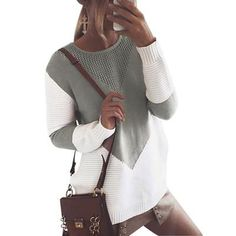 winter women sweaters &pullovers long sleeve casual crop sweater slim solid knitted jumpers sweater