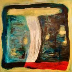 "Saatchi Art Artist Grace Dam; Painting, ""The Divided"" #art"
