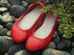 Red Adult Ballet Flat - Softstar Shoes