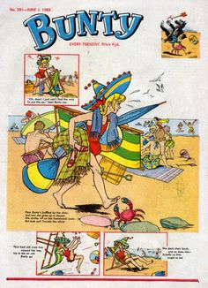 BUNTY! and the boys used to get those army/commando ones.