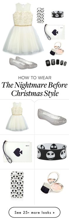 """""""Cute  ✨ ⚡"""" by sabanovicelma on Polyvore featuring David Charles, Melissa, Kate Spade, Topshop and By Terry"""