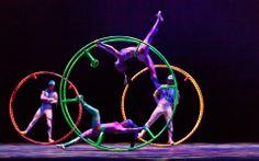 Cirque Ziva Golden Dragon Acrobats - Outstanding show at Harris Center 1/18/14
