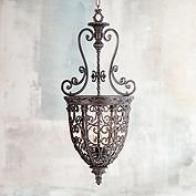 Bronze, Lantern Pendant Chandeliers | Lamps Plus