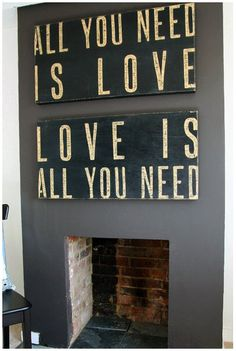 Going to make this for above the couch!!! Been wanting to for months but seeing again gets me motivated!! Gray and White?