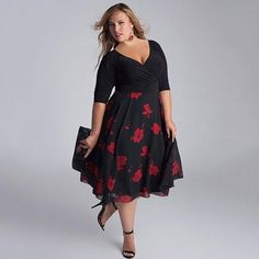 27 plus size party dresses {with sleeves | fashion, clothes and