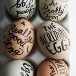 DIY To Try: Easter Egg Art | theglitterguide.com
