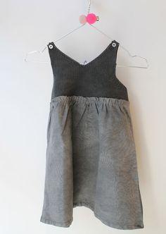 [2y 6y] Dress Rea [gray]