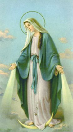virgin mary standing on the moon   images | The woman clothed with the sun is upon you., page 2