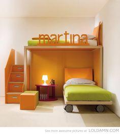 ad456f7ff95 Simple and awesome bunkbed Ιδέες Για Το Υπνοδωμάτιο, Μοντέρνα Έπιπλα, Ιδέες  Επίπλων, Διακόσμηση