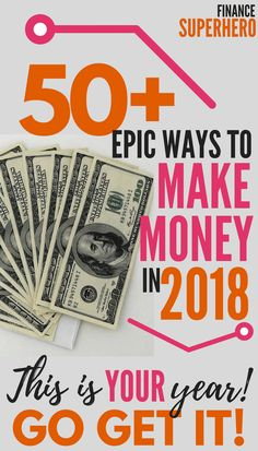 If you're looking for clever ways to make extra money, maybe even beyond levels you dreamed possible, you're in the right place. This list of 50+ carefully-researched ways to make extra money to help you do exactly that and reach new highs with your money this year! Make money, make extra money, side hustles, work at home jobs, make money online