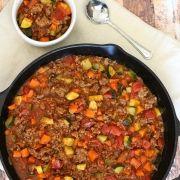 All Meat Veggie Chili - Paleo Chili Recipe