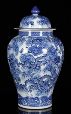 Lot:Later 19th C. Chinese Blue and White Jar, Porcelain, Lot Number:8225, Starting Bid:$200, Auctioneer:Kaminski Auctions, Auction:Later 19th C. Chinese Blue and White Jar, Porcelain, Date:05:00 AM PT - Jul 12th, 2015