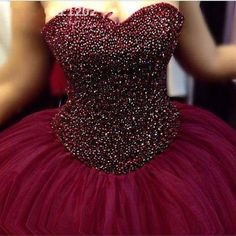 Ball Gown Prom Dress,Tulle Prom Dresses,Evening Formal Dress,Evening