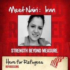 TODAY IS WORLD REFUGEE DAY!! 80 percent of the world's refugees are women and children. Nairi is one of them. Refugee women need you to stand with them. The International Institute of Los Angeles does. RE-PIN Nairi's story if you do, too.