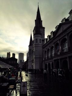 There's something magical about #NOLA in the evening.