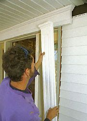Outside Window Trim Pictures home Styles of Exterior Door
