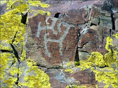 Gallery of prehistoric art found high in Altai Mountains in Siberia. While the region is famed for petroglyphs (rock engravings), new finds are being made in the hidden and rarely-visited Saldyar valley, close to the fast-flowing Katun River. Here beneath the densely-wooded slopes they are discovering remarkable rock pictures dating back 5,000 years, close to Russia's border with China and Mongolia. click through