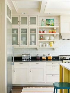 How to Buy Kitchen Cabinets Looking for new kitchen cabinets? Here's a purchasing primer that guides you through the kitchen-cabinet selection process and advises how to buy kitchen cabinets that work for your style and budget.