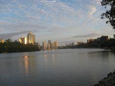 Brisbane River at Daybreak