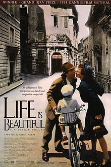 """Life Is Beautiful."" This film, based on a true story, and directed by Roberto Benigni, moved me more than any other I have ever seen."