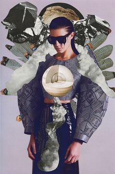 Ideaal voor aan de muur: De mooiste collages over de rol van mode | NSMBL.nl