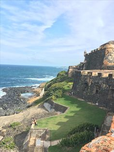 When the meeting breaks, make your escape to the edge of Old San Juan.