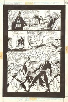 Mignola - Cosmic Odyssey 4 page 46 Comic Art