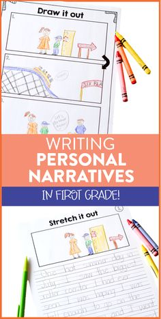 Looking for new ways to teach your first grade students how to write personal narratives? This blog post walks through how I use anchor charts and graphic organizers to help students stretch out their small moments to create their own narratives!