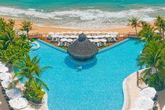 Localizado na orla de Natal, capital do Rio Grande do Norte - Brasil.....o Hotel Serhs conta com um parque aquático com piscinas externas e internas com hidromassagem