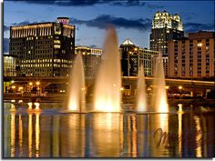 Orlando, Florida. It could be considered the capital for amusement parks in America. It would be a great place to visit.