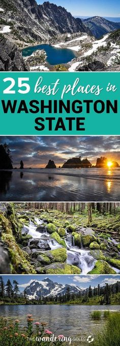 Best Things to Do in Washington State. Everything you want to know about Washington State. Find the best hikes, explore national parks, ski the best slopes, chase beauiful waterfalls, and watch gorgeous sunsets. We have your whole Washington State Road Tr