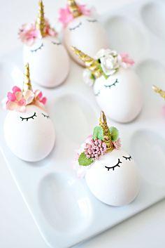 DIY Unicorn Easter Eggs » Little Inspiration