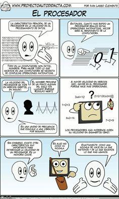 Excelente Página con explicaciones en comic sobre informática, en este caso, hardware: El procesador (2)