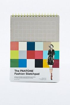Carnet de croquis The Pantone Fashion Sketch Book