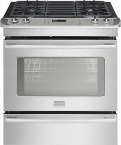 "FPDS3085PF Frigidaire 30"" Dual Fuel Slide-in Range with Heavy Duty Grates & Professional Style Knobs - Smudge-Proof Stainless Steel"