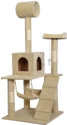"55"" Cat Tree Condo for $40  free shipping #LavaHot http://www.lavahotdeals.com/us/cheap/55-cat-tree-condo-40-free-shipping/167317?utm_source=pinterest&utm_medium=rss&utm_campaign=at_lavahotdealsus"