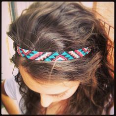Aztec beaded headband I bought from urban outfitters